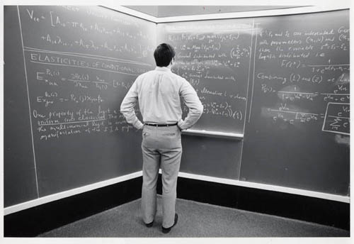 math blackboard