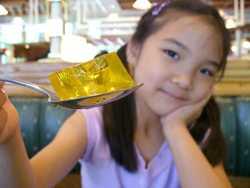 yellow jello