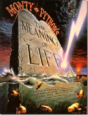 poster de the meaning of life