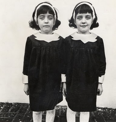 photo de gemelas, Diane Arbus 1966