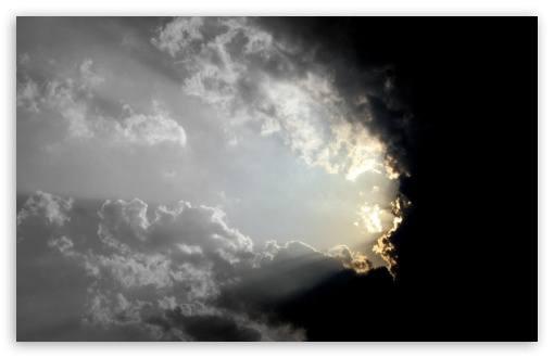 cielo con luz