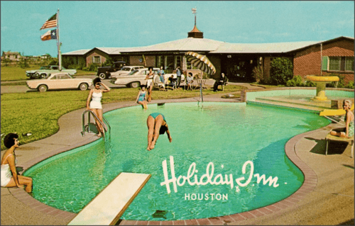 postal Holiday Inn vintage